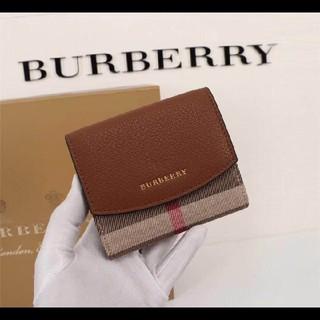 BURBERRY - 人気推薦★ BURBERRYミニ財布バーバリー