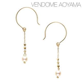 Vendome Aoyama - ■現行品■【VENDOME AOYAMA】K10 アコヤパール スイングピアス