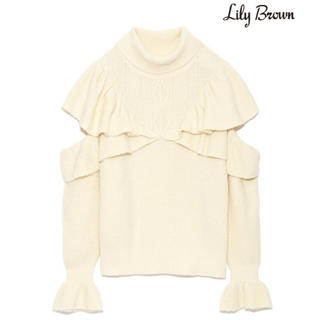 Lily Brown - リリーブラウン ニット