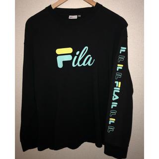 FILA - FILA袖ロゴ長袖Tシャツ
