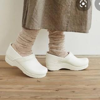 ダンスコ(dansko)の新品 箱付き ダンスコ ホワイト 36(ローファー/革靴)