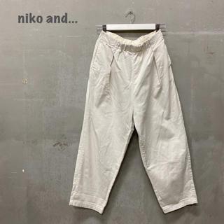ニコアンド(niko and...)の【niko and...】パンツ オフホワイト ニコアンド(その他)