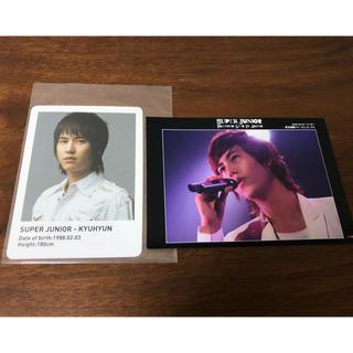 SUPER JUNIOR - SUPER JUNIOR キュヒョン カード