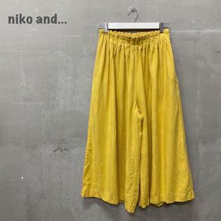 ニコアンド(niko and...)の【niko and...】ギャザー パンツ ニコアンド(その他)