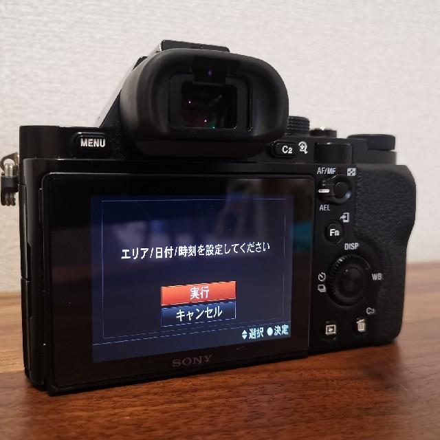 SONY(ソニー)の【値下げ】美品!α7 ILCE-7 スマホ/家電/カメラのカメラ(ミラーレス一眼)の商品写真