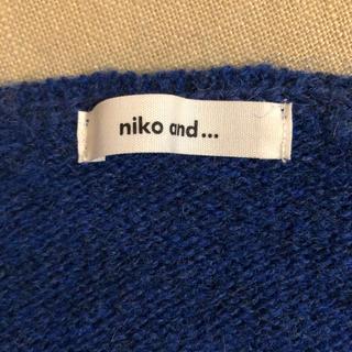 niko and... - 美品☆ ニコアンド ♡ ウール100% ニット セーター