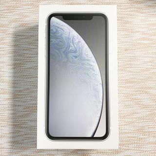 iPhone - iPhoneXR 64GB ホワイト SIMフリー
