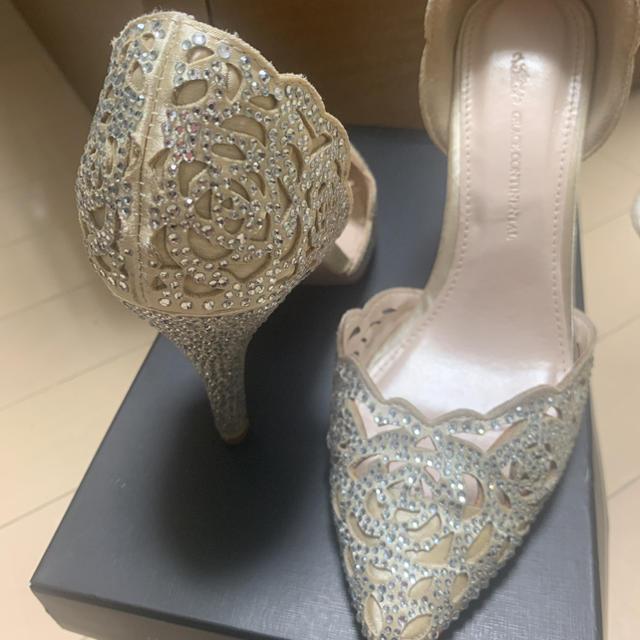GRACE CONTINENTAL(グレースコンチネンタル)のGRACE CONTINENTAL 7cmヒール レディースの靴/シューズ(ハイヒール/パンプス)の商品写真