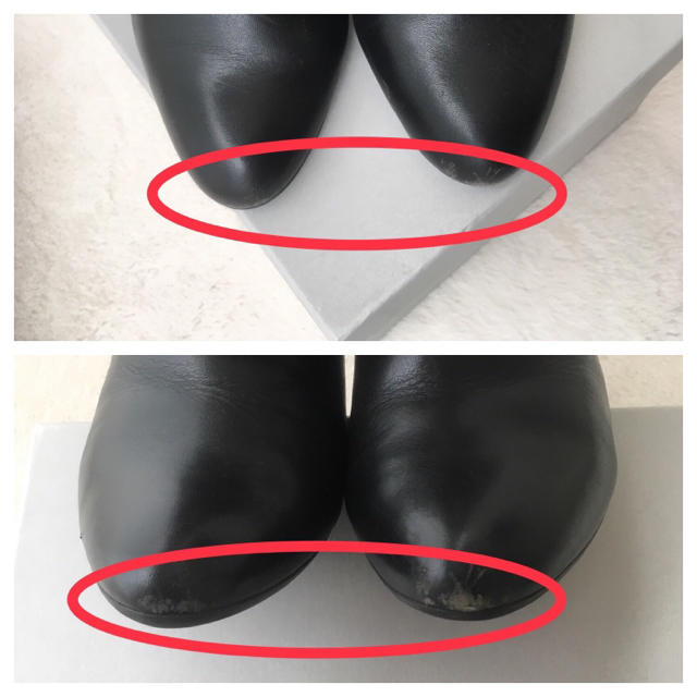 DIANA(ダイアナ)の【専用】DIANA/ダイアナ/ショートブーツ/黒/24.0cm レディースの靴/シューズ(ブーツ)の商品写真