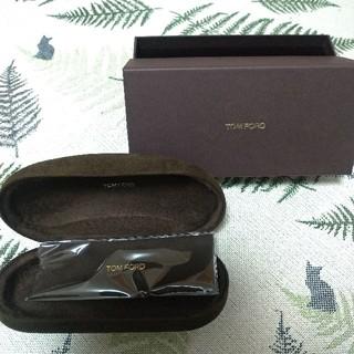 トムフォード(TOM FORD)のTOMFORD トムフォード メガネケース サングラスケース 未使用品 (サングラス/メガネ)
