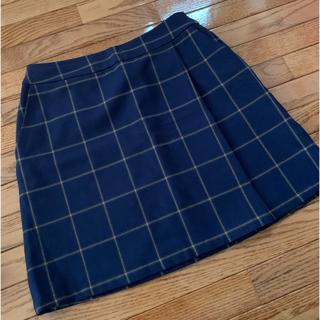 ローリーズファーム(LOWRYS FARM)の台形スカート チェック(ミニスカート)