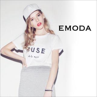 エモダ(EMODA)のEMODA MUSE Tシャツ カットソー♡ムルーア GYDA JEANASIS(Tシャツ(半袖/袖なし))