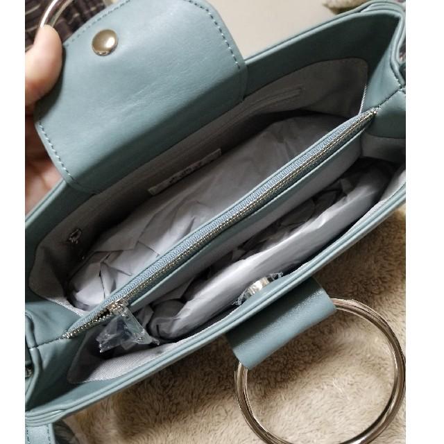 moussy(マウジー)の新品未使用 moussy リングバッグ レディースのバッグ(ハンドバッグ)の商品写真