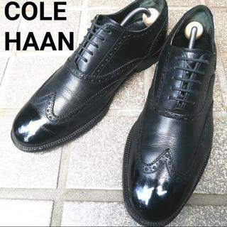 コールハーン(Cole Haan)の【COLE HAAN】コールハーン 鏡面 26.5cm ブラック 革靴(ドレス/ビジネス)