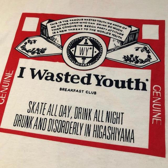 wasted youth×breakfastclub Tee Lサイズ メンズのトップス(Tシャツ/カットソー(半袖/袖なし))の商品写真
