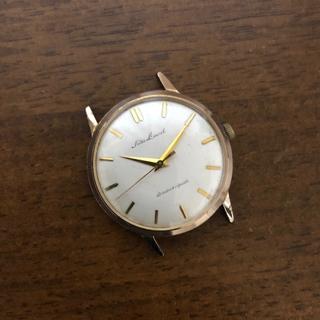 セイコー(SEIKO)のSEIKO LAUREL セイコー ローレル 17石 手巻き 稼働品 金メッキ(腕時計(アナログ))