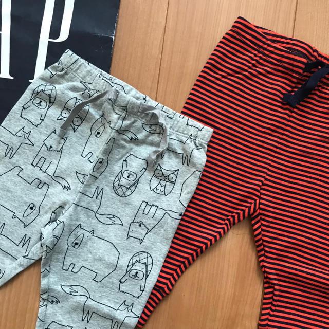 babyGAP(ベビーギャップ)の新作★baby gapパンツセット80 キッズ/ベビー/マタニティのベビー服(~85cm)(パンツ)の商品写真