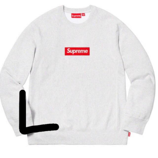 Supreme(シュプリーム)のL supreme box logo crew neck メンズのトップス(スウェット)の商品写真