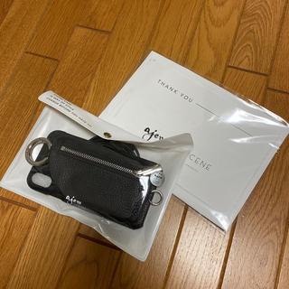 ユナイテッドアローズ(UNITED ARROWS)の【期間限定お値下げ★】ajew iPhoneXR 紐付き ケース(iPhoneケース)