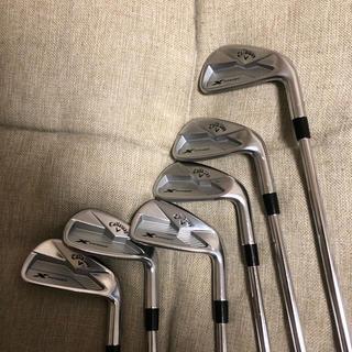 キャロウェイゴルフ(Callaway Golf)のキャロウェイ Xフォージドアイアン 5-P 6本セット DG S200(クラブ)