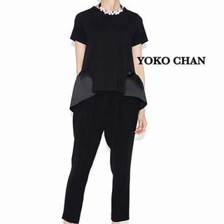 FOXEY - YOKO CHAN ヨーコ チャン 半袖カットソー フリル ペプラム Tシャツ