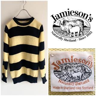 カトー(KATO`)のJamieson's AAA別注 シェットランドウール クルーネックセーター(ニット/セーター)