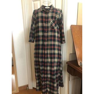 chocol raffine robe - chocol raffine  チェック シャツワンピース