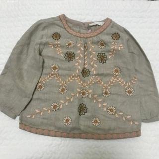 ZARA KIDS - 刺繍ブラウス