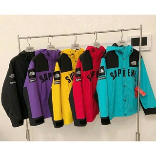 THE NORTH FACE - Supreme THE NORTH FACE マウンテンパーカー