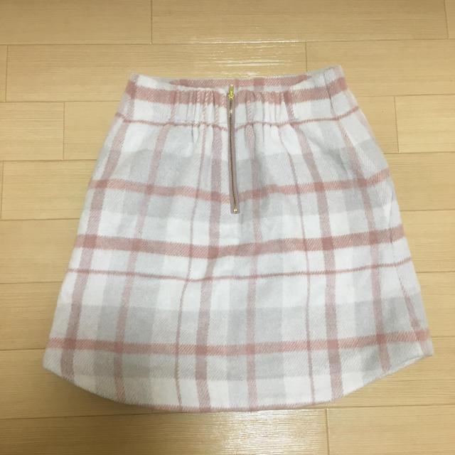 one after another NICE CLAUP(ワンアフターアナザーナイスクラップ)のナイスクラップ スカート レディースのスカート(ミニスカート)の商品写真