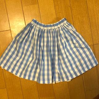 Bonpoint - ボンポワン チェック柄スカート