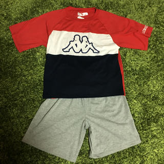 ケイパ(Kaepa)のkaepa  150   パジャマ   半袖   半ズボン   新品未使用タグ付(パジャマ)