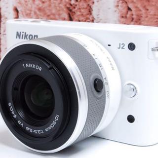 Nikon - ★超美品★可愛い★Nikon J2 レンズキット