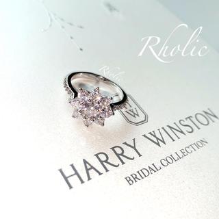ハリーウィンストン(HARRY WINSTON)の即日発送✨太陽の花 サンフラワー リング✨11号(リング(指輪))