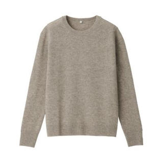 MUJI (無印良品) - 新品   無印良品  ヤク混ウールクルーネックセーター