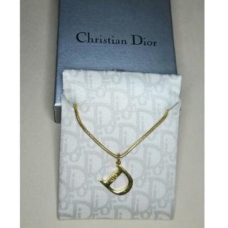 Christian Dior - クリスチャン・ディオール★Dロゴレターネックレス