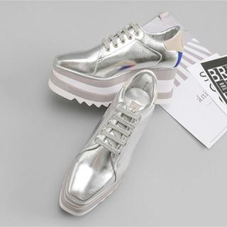 ステラマッカートニー(Stella McCartney)のプラットフォームシューズ(ローファー/革靴)