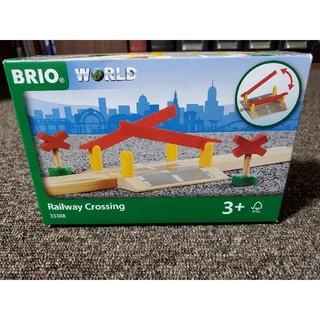 BRIO - ⑥ ブリオ BRIO 踏切 未開封 木製玩具 ベビー