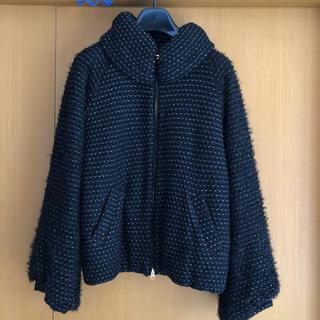 TSUMORI CHISATO - ツモリチサトコート 一回着 ボア バスケットジャージ コート 美品