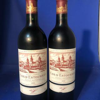 サントリー - 交渉可 2本 シャトー コス デストゥルネル1990年 赤ワイン フランス