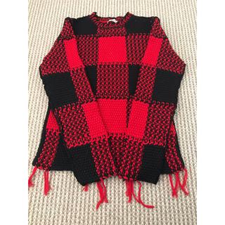 VALENTINO - 超美品!!valentino バッファローチェック セーター