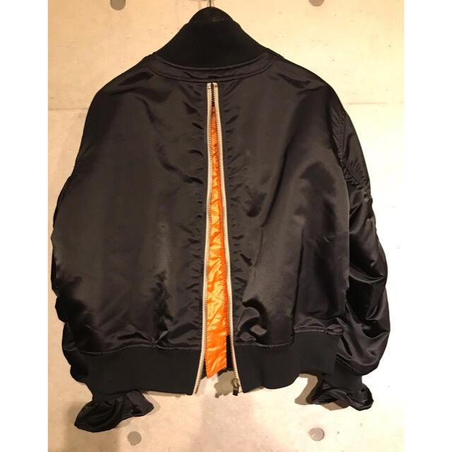 CHRISTIAN DADA(クリスチャンダダ)の試着のみ 19ss CHRISTIAN DADA  MA-1  レディースのジャケット/アウター(ミリタリージャケット)の商品写真