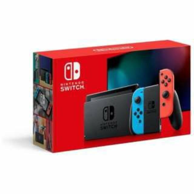 Nintendo Switch(ニンテンドースイッチ)の新型任天堂switch エンタメ/ホビーのゲームソフト/ゲーム機本体(家庭用ゲーム機本体)の商品写真