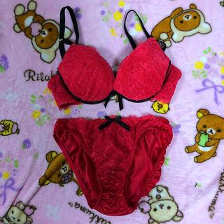 E75 ブラ&ショーツセット 新品♥(ブラ&ショーツセット)