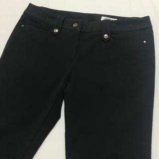 ジユウク(自由区)の自由区  ブラック  ストレッチパンツ  サイズ 40(カジュアルパンツ)