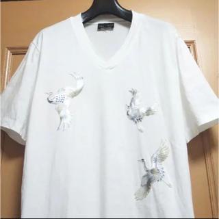 Emporio Armani - 完売品【お買い得】アルマーニ EMPORIO ARMANI 刺繍 Tシャツ