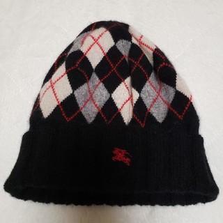 BURBERRY BLUE LABEL - ニット帽(BURBERRY)