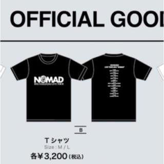 カンジャニエイト(関ジャニ∞)の錦戸亮 nomad Tシャツ 黒 グッズ 関ジャニ(アイドルグッズ)