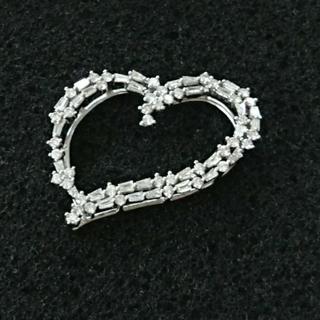 ◆最終価格◆笠原真寿美デザイン ダイヤモンドのハートペンダントヘッド(ネックレス)
