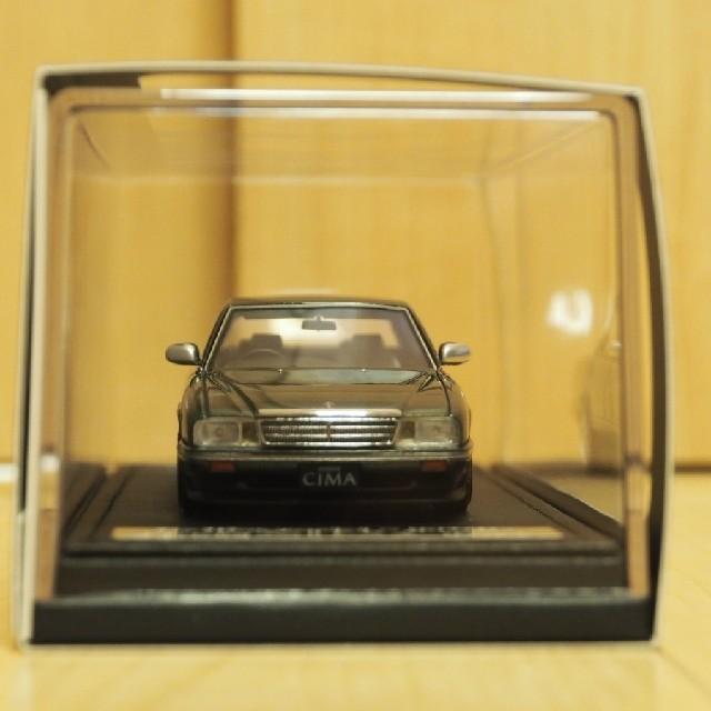 激安イグニッションxトミーテック 1/43 日産セドリックシーマタイプII-S緑 エンタメ/ホビーのおもちゃ/ぬいぐるみ(ミニカー)の商品写真